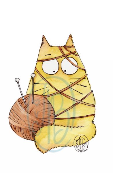 POOKIE - cat-knit