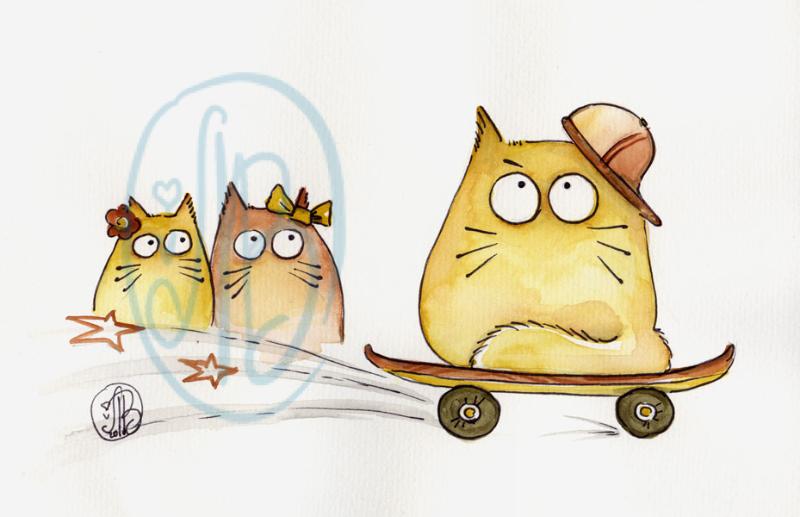 POOKIE - evel-cat-nievel